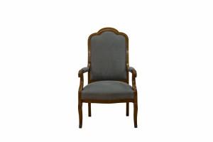 Epipla Gousdovas renovation classic gray armchair