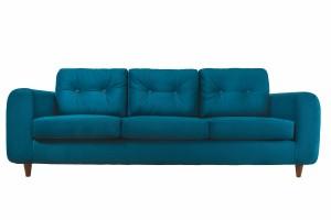Epipla Gousdovas blue sofa