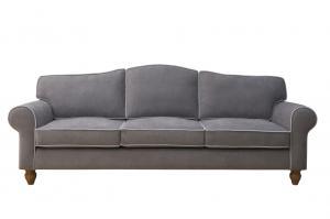 Epipla Gousdovas classic gray sofa