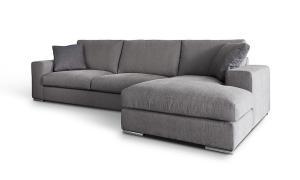 Epipla Gousdovas corner gray sofa I