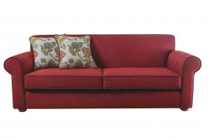 Epipla Gousdovas red sofa